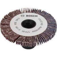 Accessoire pour PRR 250 ES largeur 6 Lot de manchons abrasifs Bosch grain 80