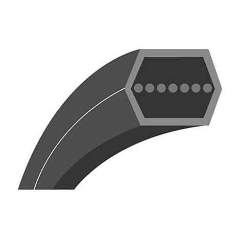Courroie lisse hexagonale série AA Longueur ext: 2847mm