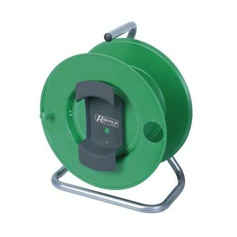 Enrouleur electrique vide pour rallonge electrique de jardin (max 40m)