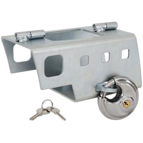 Antivol pour tête d'attelage remorque et caravane - montage facile