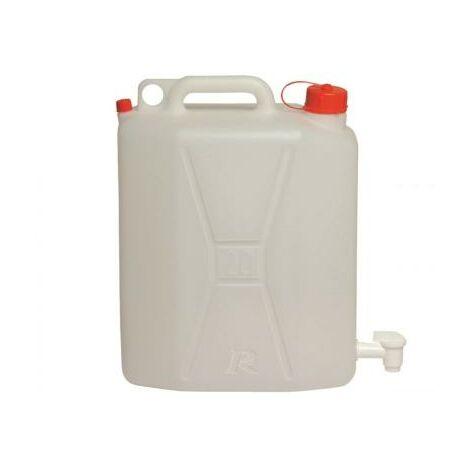 Jerrican alimentaire 20 litres avec robinet de service
