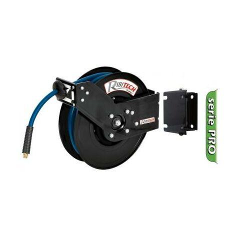 Dévidoir enrouleur automatique professionnel de tuyau air comprimé 15 m