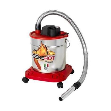 Aspirateur pour cheminée et poele 800W cendre froide ou CHAUDES
