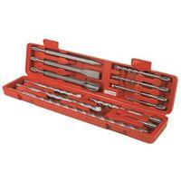 Coffret 12 pieces SDS burins foret pointerolle pour perforateur