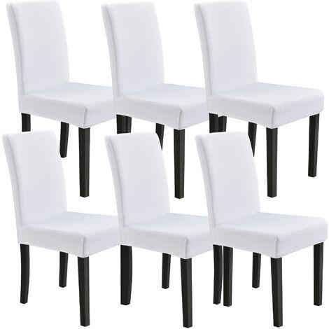 /® Neu.Haus 4 x Housse de Chaise Protecteur de Chaise /Élastique Rev/êtement de Chaise Sable Set de 4