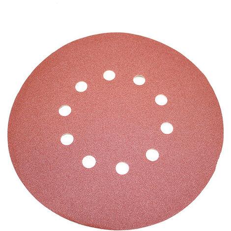 G120 corindon normal ponceuses multi-disques RETOL disques abrasifs auto-agrippants Lot de 50 125 mm p