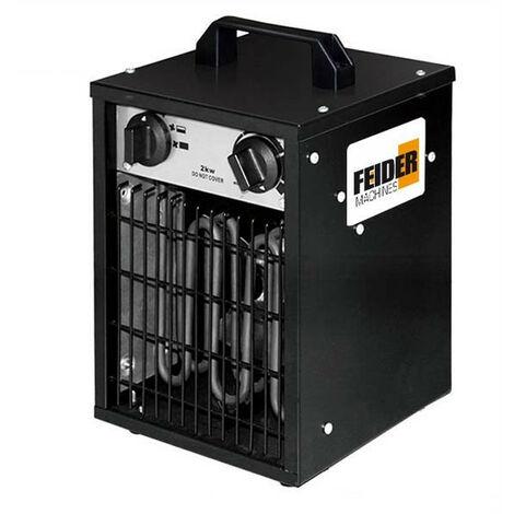 FEIDER Chauffage électrique 2000 W 120 m³/h 30 m² - Thermostat ajustable  FCE2000W