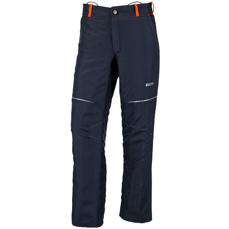 KOX Pantalon de protection anti-coupures Vento 2.0, bleu foncé, taille EU 64/ FR 58 - Bleu foncé