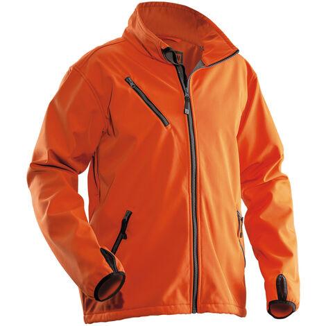 Veste Softshell JOBMAN 1201, orange, Taille L - Orange