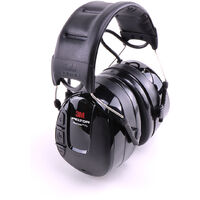 """3M™ Peltor™ Ecouteurs audio avec protection auditive avec radio FM """"Work Tunes Pro"""", avec serre-tête"""