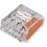 Bornes automatiques 3 entrées Orange Boite de 100 pièces - Capri