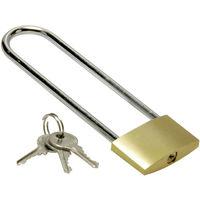 Vorhängeschloss Vorhangschloss 3 Schlüssel Kistenschloss Bügelschloss
