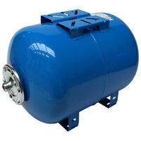 Réservoir à Vessie Horizontal 80 Litres Réservoir surpresseur - Raccord 1 Réservoir Pression à Vessie