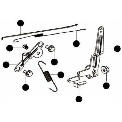 Kit ressort régulateur moteur tondeuse Mc Culloch
