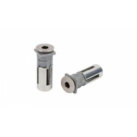 2X chevilles Quick-fix -QF5 LOCINOX pour le métal