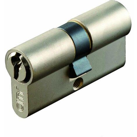 Cylindre européen à 2 entrées CITY ISEO Finition: Nickelée35x45mm - Multicouleur