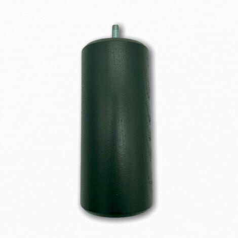 Lot de 4 pieds de lit ou de sommier, laqué gris anthracite.hauteur 150 mm - Multicouleur