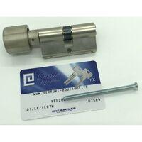 Cylindre haute sécurité HX avec 5 clés réversibles30 x30 mm bouton
