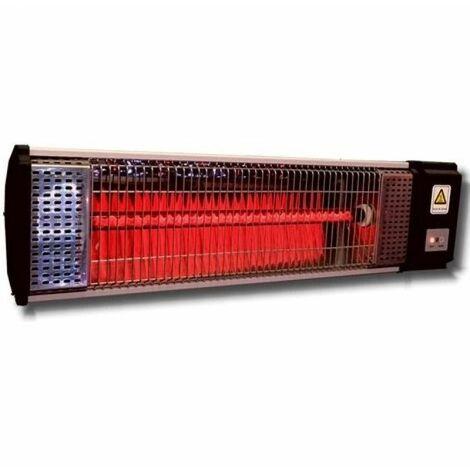 Lampada Riscaldamento Esterno Stufa Infrarossi Giardino Parete Telecomando 2200W