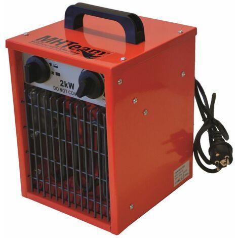 Appareil de chauffage électrique portati cm 27x25,5x40 MHTEAM EH2-03