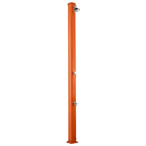 Douche solaire Jolly S Rincepieds Orange cm 15x16,5x229 ARKEMA DESIGN - prodotto made in Italy CV-A620/2009