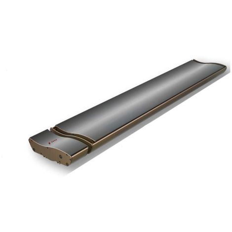 Radiateur IR Design 1000W Télécommande cm 60x21,5x7 SINED JH-NR10-14B