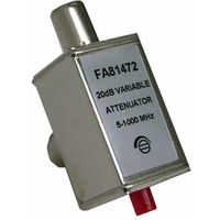 atenuador 0-20 db 75 ohms