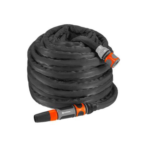 Tuyau darrosage et connecteur en laiton massif pour voiture RV jardin maison tuyau darrosage extensible 100 pi flexible extra puissant tissu 5000D buse de pulv/érisation gratuite avec 9 fonctions
