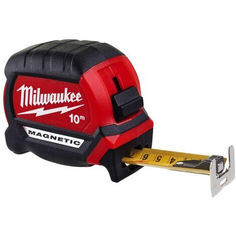 Mètre à ruban 10m Premium Magnétique Gen 3 Milwaukee 4932464601