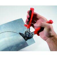 Cisaille à lames décalées à 90° coupe à gauche UPPER-CUT - EDMA 127055