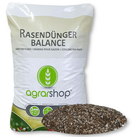 Agrarshop OrgaMin Rasendünger 25 kg Sofortwirkung Langzeitwirkung Turbo