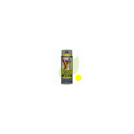Bombe de peinture jaune BERNARD aérosol 400 ml