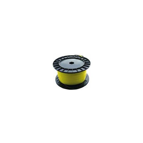 Fil nylon rond débroussailleuse Ø 2mm x 130m
