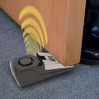 OLYMPIA T 300 Alarm-Türstoppe rmit Erschütterungssensor, 100 dB