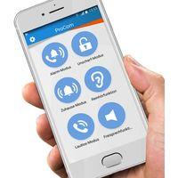 OLYMPIA Protect 9066 Funk GSM-Haus Alarmanlage-mit Notruf und Freisprechfunktion, Weiß