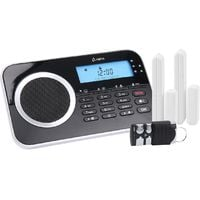 OLYMPIA Protect 9730 drahtlose GSM Alarmanlagen-Set, Schwarz