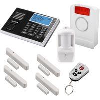 OLYMPIA Protect 9061 GSM Funk Alarmanlagen Super-Set mit Außensirene