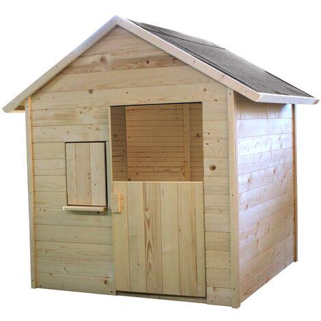 Petite cabane en bois pour enfants - Igor