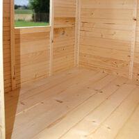 Petite cabane en bois pour enfants - Lilas