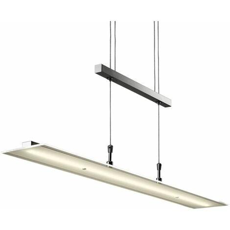 Suspension LED réglable en hauteur luminaire salle à manger salon
