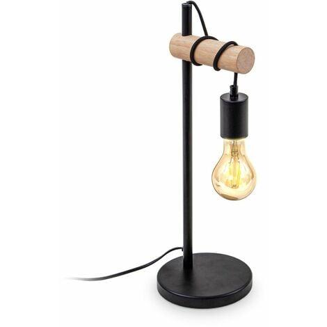 Lampe de bureau Lampe de table bois Lampadaire Liseuse Lampe de chevet cuivre or