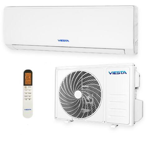 VIESTA 09SE Climatiseur split conditionneur d'air split 9000 BTU 2,6kW R32 A++ Wifi prêt, télécommande
