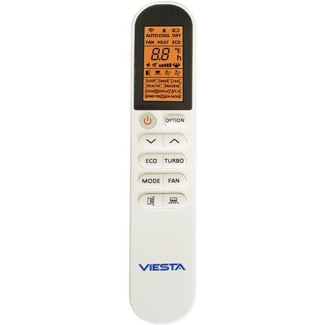 Télécommande VIESTA blanche pour les climatiseurs split VIESTA climatiseurs inverter