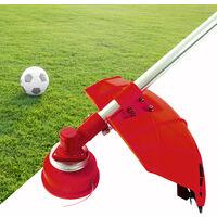 10x Nemaxx FS2 cabezal de doble hilo semiautomático - cabezal de corte de siega -accesorios de corte - hilo de nylon - carrete para desbrozadora gasolina – rojo