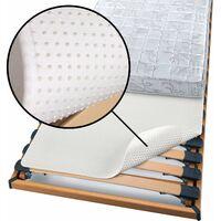 Beautissu Protège matelas - Isolateur pour sommier à lattes Beautect 200x80x0.5 cm
