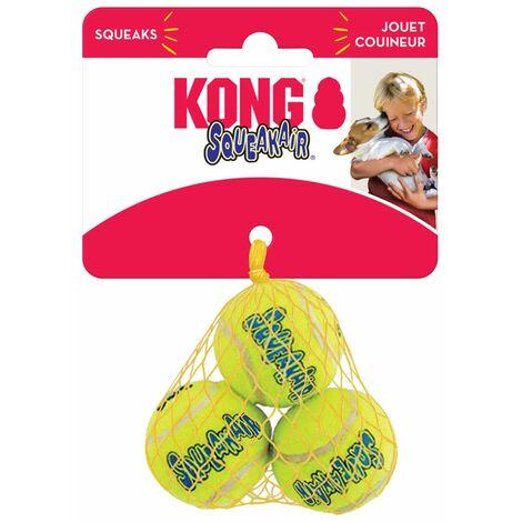 KONG SqueakAir Ball lot de 3 Taille : XS