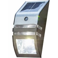 Solar LED Garden Security Light With Motion Sensor