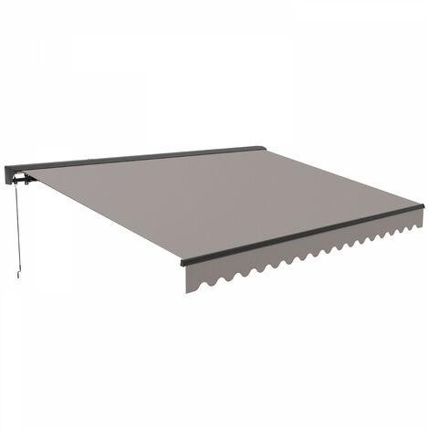 Store banne avec coffre 3 x 2,50 m Paimpol - Taupe - Taupe