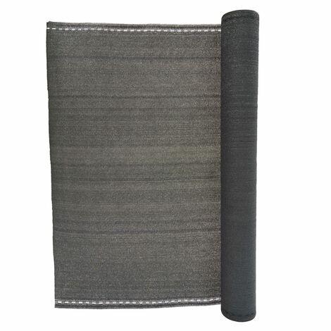 Brise vue 230 g/m² gris  Onca - 1,5 x 10 mètres - Gris