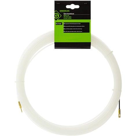 Tire fils nylon D=4 mm - L=20 m - GREENLEE
